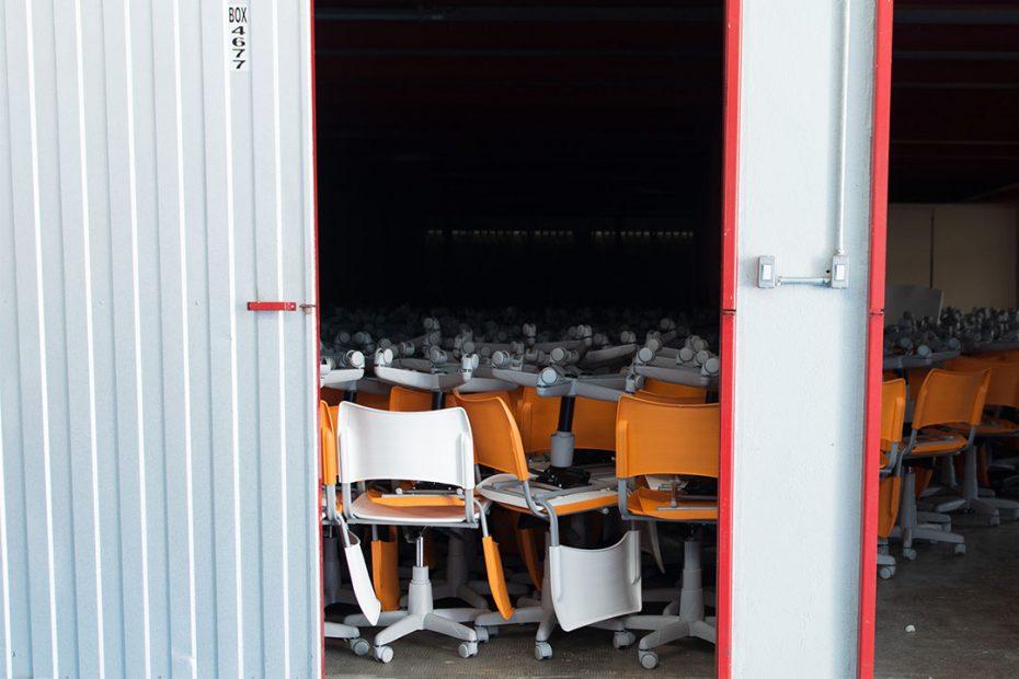 Vantagens de guarda móveis durante mudanças ou reformas