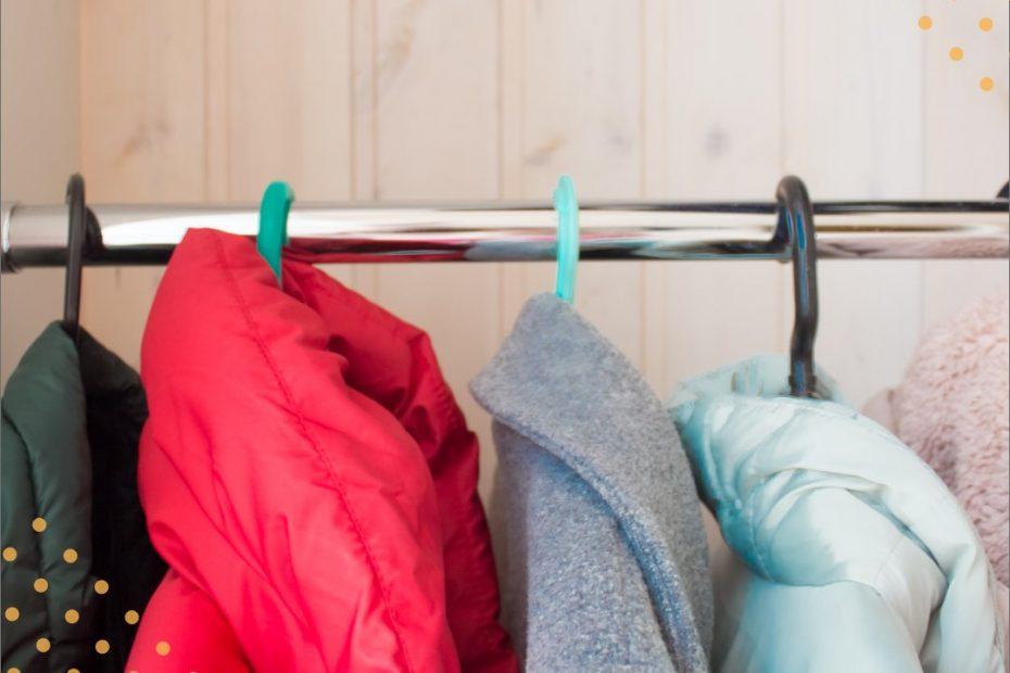 Organize suas roupas de inverno