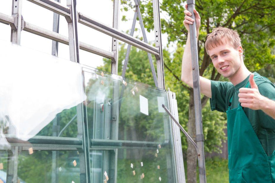 estocar vidros com segurança